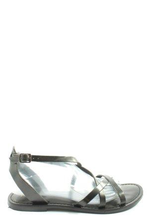 MSCH Copenhagen Sandales confort noir style décontracté