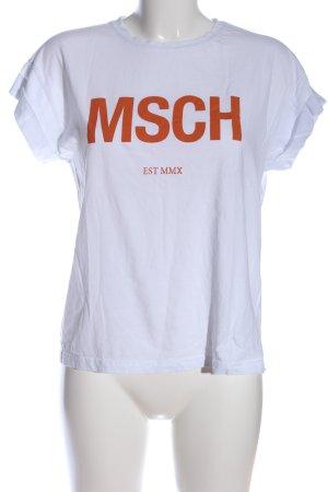 MSCH Copenhagen Print-Shirt