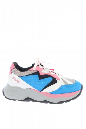 MSGM Heel Sneakers multicolored casual look