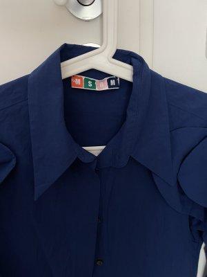 MSGM Shirt Blouse blue