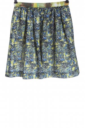 MSGM Flared Skirt allover print casual look