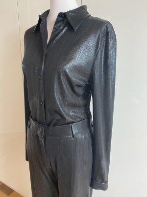 MSGM Long Sleeve Blouse black