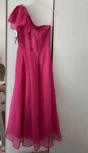 MSGM Maxi Dress multicolored silk