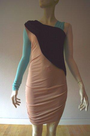 MSGM Mini Dress multicolored viscose