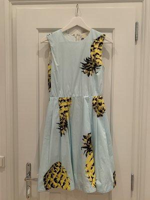 MSGM Kleid mit Ananasmuster