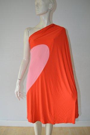 MSGM Kleid One Shoulder Gr. 34 Np 429 € Blogger Herz