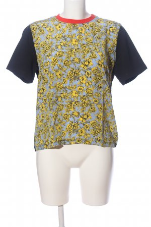 MSGM Short Sleeved Blouse themed print casual look