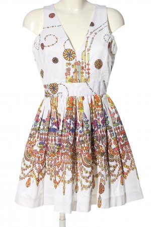 MSGM A Line Dress allover print casual look