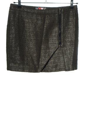MSGM Miniskirt khaki casual look
