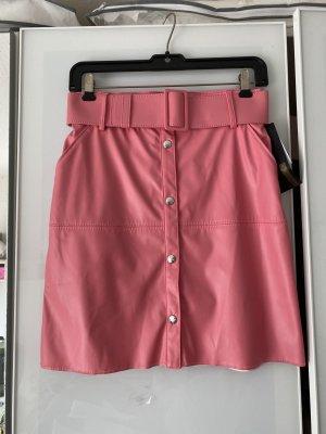 MSGM Miniskirt pink polyester