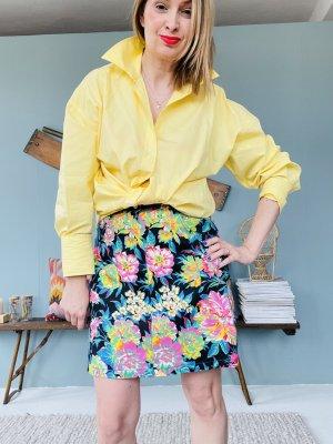 MSGM Denim Skirt multicolored