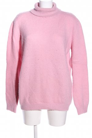 MSGM Turtleneck Sweater pink casual look