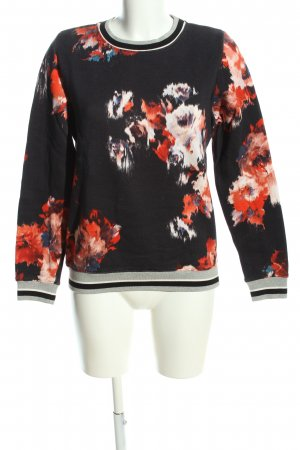MSGM Crewneck Sweater abstract pattern casual look