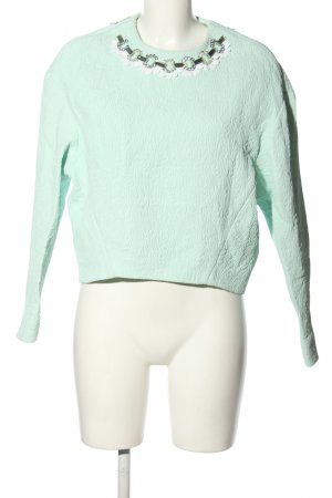 MSGM Slip-over Blouse turquoise business style