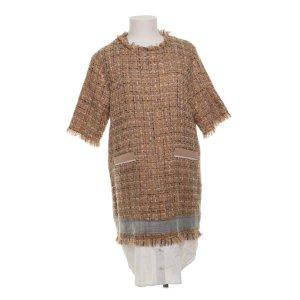 Msgm shift dress tweed beige nude mit Bluseneinsatz