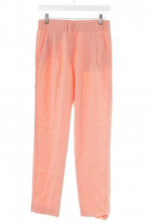 MSGM Stoffhose apricot-lachs Business-Look