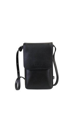 MSGM Umhängetasche in Schwarz aus Leder