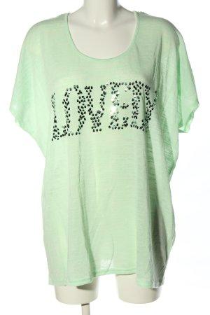 MSmode T-Shirt grün Casual-Look