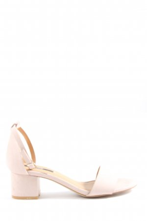mtng Originals Strapped High-Heeled Sandals cream casual look