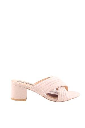 mtng Originals Riemchen-Sandaletten pink Casual-Look