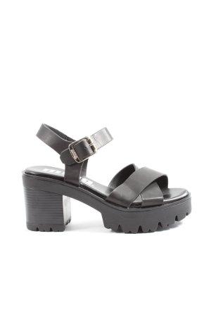 mtng. Sandały na platformie czarny W stylu casual