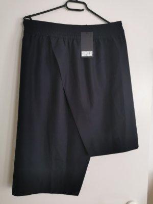 MTWTFSSWEEKDAY Asymmetrische rok zwart-donkerblauw