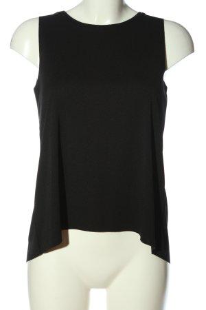 MTWTFSSWEEKDAY ärmellose Bluse schwarz Casual-Look