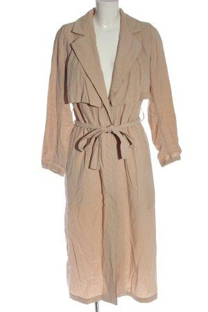 MTWTFSSWEEKDAY bodenlanger Mantel nude Casual-Look