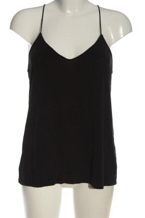 MTWTFSSWEEKDAY Podkoszulek na ramiączkach czarny W stylu casual