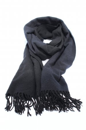 MTWTFSSWEEKDAY Fringed Scarf blue-black striped pattern casual look
