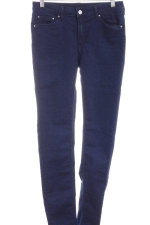 MTWTFSSWEEKDAY High Waist Jeans dunkelblau Casual-Look