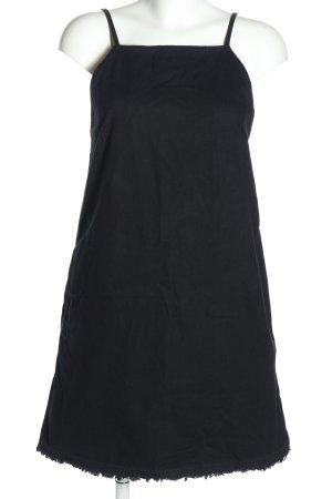 MTWTFSSWEEKDAY Jeanskleid schwarz Casual-Look
