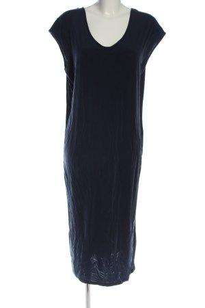MTWTFSSWEEKDAY Kurzarmkleid blau Casual-Look