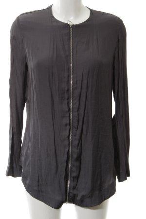 MTWTFSSWEEKDAY Langarm-Bluse schwarz Casual-Look
