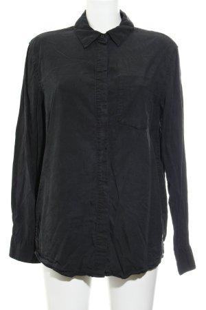 MTWTFSSWEEKDAY Langarmhemd schwarz Casual-Look