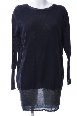 MTWTFSSWEEKDAY Langarmkleid blau Casual-Look