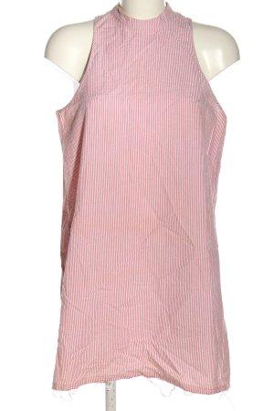 MTWTFSSWEEKDAY Minikleid pink-weiß Streifenmuster Casual-Look
