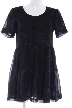 MTWTFSSWEEKDAY Minikleid schwarz Farbverlauf Casual-Look