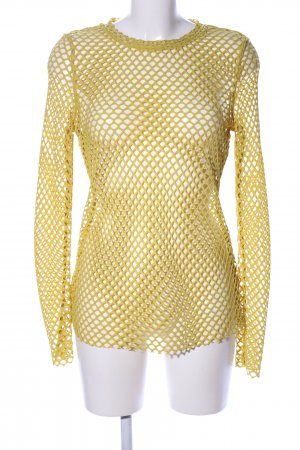 MTWTFSSWEEKDAY Mesh Shirt primrose weave pattern casual look