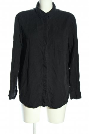MTWTFSSWEEKDAY Oversized Bluse schwarz Casual-Look