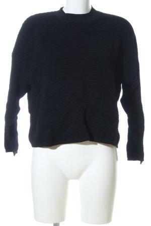 MTWTFSSWEEKDAY Oversized Pullover schwarz Casual-Look