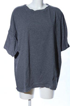 MTWTFSSWEEKDAY Oversized Shirt light grey flecked casual look