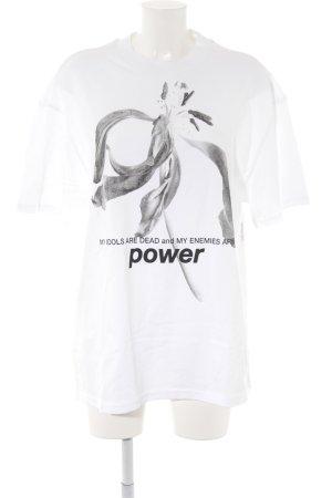 MTWTFSSWEEKDAY Print-Shirt Blumenmuster Casual-Look