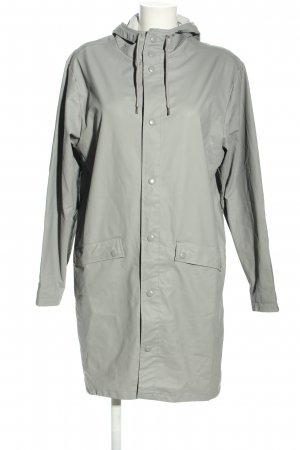 MTWTFSSWEEKDAY Manteau de pluie gris clair style décontracté
