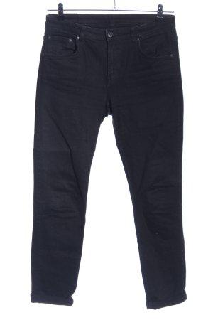 MTWTFSSWEEKDAY Jeans cigarette noir style décontracté