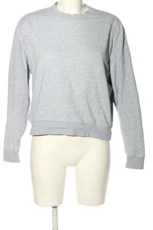 MTWTFSSWEEKDAY Crewneck Sweater light grey flecked casual look