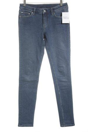 MTWTFSSWEEKDAY Slim Jeans stahlblau Casual-Look