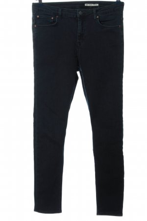 MTWTFSSWEEKDAY Stretchhose blau Casual-Look
