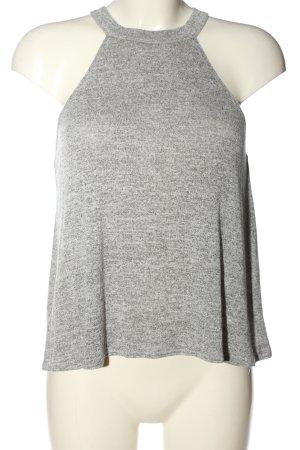 MTWTFSSWEEKDAY Strickshirt hellgrau Casual-Look