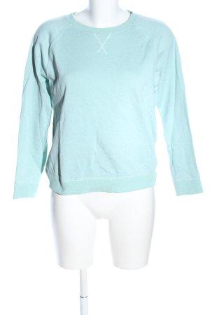 MTWTFSSWEEKDAY Sweatshirt türkis Casual-Look